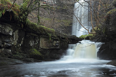 Uldale Force, River Rawthey, Yorkshire Dales National Park, Cumbria, UK (Ministry) Tags: uk longexposure bridge fern tree rock river waterfall nationalpark moss bed sandstone force yorkshire falls cumbria cascade fell dales baugh sedbergh howgill ulda