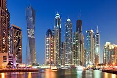 Dubai Marina (funtor) Tags: city night dubai vae greaterphotographers greatphotographers greatestphotographers flickrdiamond marina building skyscraper color light