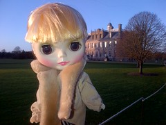 Johanna at Kingston Lacey..