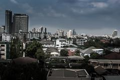 HDRB (photo_rowan) Tags: city travel sky urban sun sunlight color building colors clouds buildings thailand asia cityscape bangkok balcony nikkor thep krungthep krung 35mm18g nikond3100