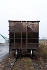 CTRN 826 A-End view Ottawa, Ontario Canada 11032008 ©Ian A. McCord (ocrr4204) Tags: ontario canada cn wagon kodak ottawa traincar pointandshoot mccord hopper cnr canadiannational cnrail coalcar walkley z740 freightcar coalhopper exbn ctrn walkleyyard ianmccord ianamccord