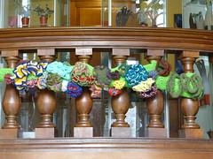 Botanica Mathematica at Summerhall (MadeleineS) Tags: trees sculpture art knitting crochet textile botanica mathematica summerhall edinburghinternationalsciencefestival
