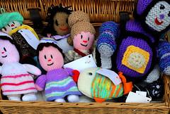 Lacock, Wiltshire (clivea2z) Tags: knitteddolls