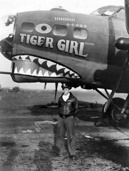 "B-17F ""Tiger Girl"" • <a style=""font-size:0.8em;"" href=""http://www.flickr.com/photos/81723459@N04/14295870684/"" target=""_blank"">View on Flickr</a>"