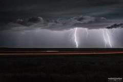 31/365 (Parkerfuller1) Tags: light sky storm field rain skyline clouds dark grey highway long exposure open power space south front line lightning powerful dakota thunder