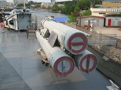 ROKS Pohang Torpedo Tubes (Jonomander) Tags: ship southkorea naval corvette pohang museumship roknavy