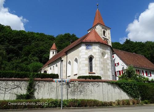 St. Ulrich Kirche in Lontal im Lonetal auf der Schwäbischen Alb
