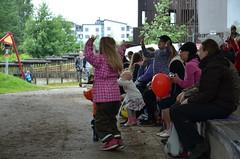 Kengurumeininki yleisöä
