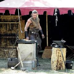 blacksmith (Stiller Beobachter) Tags: smith fair medieval blacksmith
