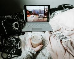 Twin Peaks (hannah.winge) Tags: twinpeaks coffee laptop netflix phone cozy bed