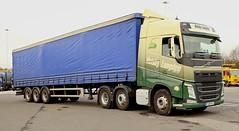 Volvo FH Helsby & Longden Curtain Box PJ65NLC Frank Hilton IMG_4852 (Frank Hilton.) Tags: classic truck lorry eight wheel maudsley aec atkinson albion leyalnd bristol austin outside heavy haulage crane 8 axle