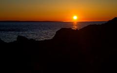 Coucher du soleil - Sunset (Indydan) Tags: blue sunset orange sun canon catchycolors eos soleil quebec coucher québec 7d stlaurent 1785 bas bic rimouski parcnationaldubic lebic 2013 canonefs1785isusm cans2s parcsquébec canoneos7d