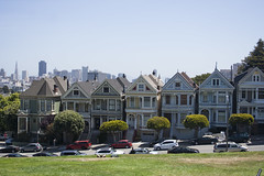 "Alamo Square ""6 Sisters"" (covered filth) Tags: sf california city ladies 6 house sisters square bay san francisco painted victorian full area six alamo"