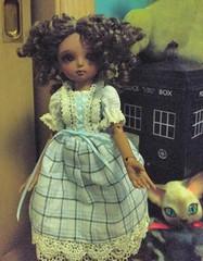 Sanya in the blue plaid dress 2 (trinlayk) Tags: sophie luna sakura sanya souji elfel littlefee momocolor