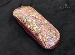 indian spectacle-case (ethnica.handmade) Tags: handmade ornament indianstyle mehndidesign hennadesign