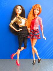 Hey Hey Life in the Dreamhouse (blossom_kid) Tags: life fashion dolls barbie mattel midge dreamhouse raquelle