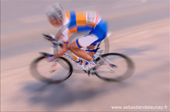 Cycliste (Sbastien Delaunay) Tags: blur bike speed cycling movement cyclist
