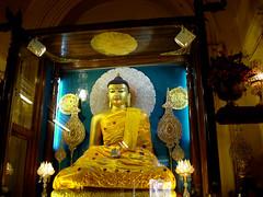 Buddha at BodhGaya (saish746) Tags: world heritage temple site nirvana buddha buddhist buddhism lord unesco bodh gaya enlightenment bomb vishal blast gautam mandir bihar mahabodhi xuanzang mahaparinirvana attained