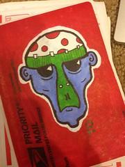 photo (10) (¡Tooth!) Tags: graffiti sticker tag slap trade slaptag