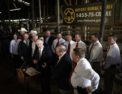 07-11-13 Governor Bentley Highlights Success of Agriculture Rural Crime Unit