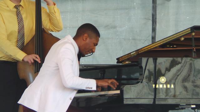 John Batiste on Piano at Newport Jazz Festival 2013