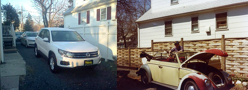 Same driveway, different VWs 36 years later Part 2