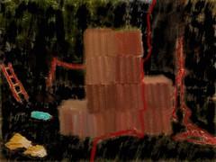 Narrenturm ~ Foolstower - Digital Overpainting of a photo ~ Digitale Fotobermalung - (2nd overpainting, state 1) (hedbavny) Tags: vienna wien red green rot tower art window wall museum campus akh psychiatry austria sterreich outsiderart drawing decay fenster kunst bamboo universitt grn popular artrage turm psychiatrie fool nhm hof pentablet mauer gitter insaneasylum narr brache ansichten nuthouse narrenturm ziegel lernen mentalinstitution sammlung lunaticasylum gugelhupf verfall madhouse digitaldrawing 1090 bung pasin irrenhaus geschlossen naturhistorischesmuseumwien alsergrund ziegelmauer maigrn altesakh grafiktablett irr fenstergitter bermalung rundbau foolstower geschlosseneanstalt pathologisch hof6 hedbavny pathologischanatomischesammlungdesnaturhistorischenmuseums ingridhedbavny narrenturmunnummeriert