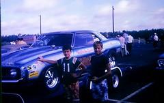 Malcolm Durham Camaro Strip Blazer Dragster 1970 (Philip Osborne Photography) Tags: rockingham dragway 1970 funnycar ektachrome vintage racing nc speedway
