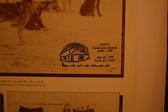 Knik's Celebration Station Stamp 1998 (radargeek) Tags: alaska museum ak halloffame musher knik