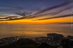 Tramonto dalla vetta del monte Epomeo - Isola d'Ischia (Captured.Light) Tags: sunset panorama tramonto monte ischia epomeo abigfave monteepomeo