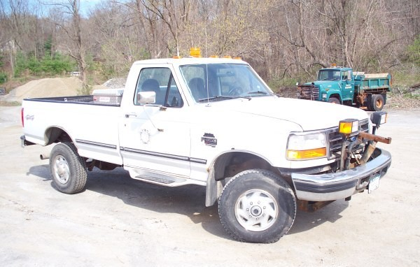 ny ford truck bedford town highway pickup international government plow department 73 municipal f350 powerstroke