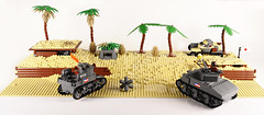 Tarawa_Green Beach_A1 and B1 of 6_Work In Progress (Florida Shoooter) Tags: usa green beach japan usmc lego ww2 diorama tarawa rikusentai
