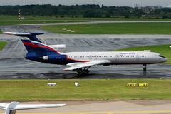 Aeroflot | Tupolev TU-154M | RA-85663 | Dusseldorf International (Dennis HKG) Tags: plane canon airplane airport aircraft su dusseldorf 70200 afl 30d tupolev aeroflot planespotting dus tu154 skyteam eddl ra85663