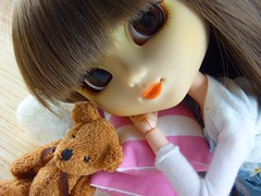 Millie et son nounours (~Louna~) Tags: planning teddybear pullip custom jun ours peluche junplanning