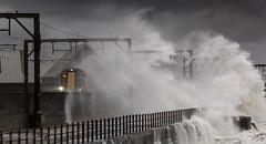IMG_8850_adj (md93) Tags: winter storm train waves scotrail spray promenade rough saltcoats sandylands