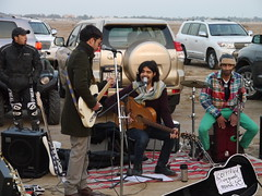 Certified Organic Music (Mink) Tags: people music desert outdoor performance band event kuwait kuwaiti yousif certified bnaider bnaider267 shakshookamarket