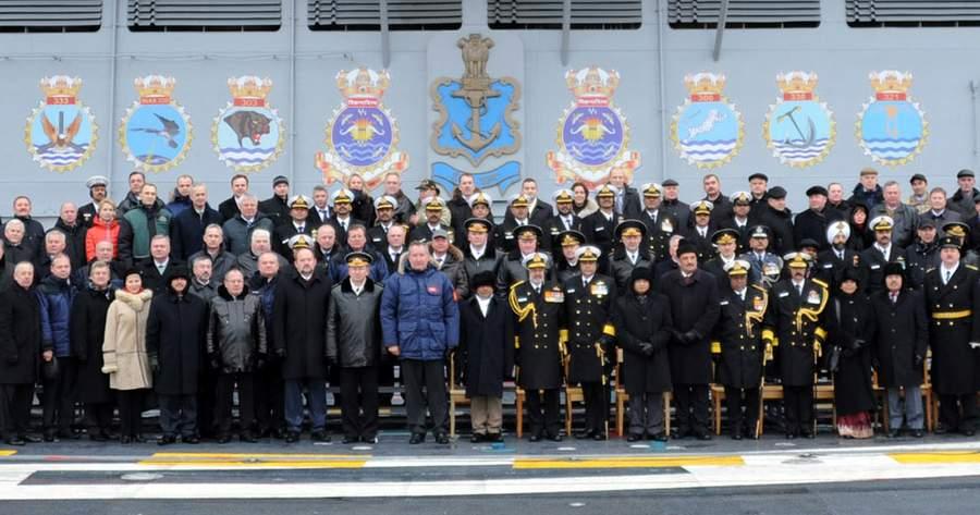 Передача «Адмирала Горшкова» индийским заказчикам, 16 ноября 2013