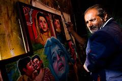 The Artist (Javed.Miandad) Tags: portrait art face paint artist culture painter rickshawart bangladeshiart