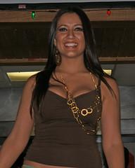 Smile (HOOTERSFANGT) Tags: girl smile guatemala hooters cleavage fashionshow