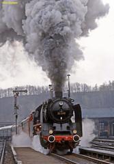 1984-04 Rochlitz (niek opdam) Tags: engine steam ddr deutsche dampflok lausitz 5280 reichsbahn