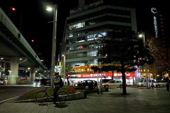 Toshincho, Sakae 4 chome, Nagoya (kinpi3) Tags: street japan night sidewalk nagoya gr sakae ricoh shinsakae vision:text=0535 vision:car=0543 vision:outdoor=0903 vision:dark=0707