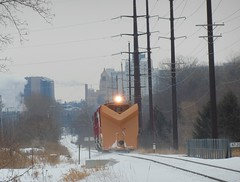 CP Snow Plow Extra - Rochester, Minnesota (redfusee) Tags: cpr