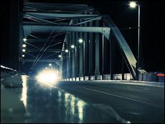 7 februari (PGKreling) Tags: bridge holland night nightshot diary arnhem streetphotography fujifilm photodiary x20