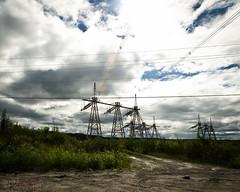 Energy (WhiteFlowersFade) Tags: voyage travel canada newfoundland landscape nikon labrador north roadtrip paysage nord tnl terreneuve hydrolectricit d7k d7000 centralehydrolectrique churchillfallscomplex