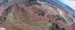 dead horse point (flippers) Tags: vacation usa holiday film america 35mm utah unitedstates desert horizon wide roadtrip panoramic canyon deadhorsepoint moab swinglens horizonperfekt