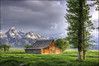 T.A Moulton Barn - Grand Teton National Park (helikesto-rec) Tags: park mountains barn tetons grandtetonsnationalpark mormonrow mormonbarn