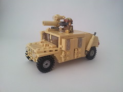 Humvee with TOW missile launcher (Project Az