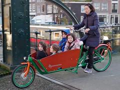 WorkCycles-Kr8-Green-Orange 10 (@WorkCycles) Tags: new family amsterdam bike bicycle kids familie kinderen bikes cargo crate fietsen westerpark jordaan fiets nieuwe cargobike vervoer fr8 bakfiets tweewieler krate transportfiets workcycles kr8