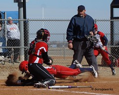 USAO/MACU Softball Tournament (Garagewerks) Tags: woman college field sport female all sony diamond tournament softball athlete 50500mm f4563 slta77v usaomacu