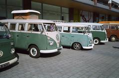 Ninove 2014 (Ronald_H) Tags: bus classic film car vw volkswagen air screen split transporter t1 bulli aircooled 2014 cooled splitty ninove spijlbus